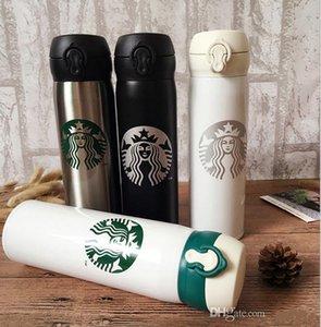New 16OZ Starbucks copos homens e mulheres canecas favoritos com copos de café copos de aço inoxidável transporte livre logotipo de suporte personalizado