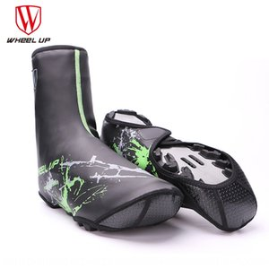 xYoc5 wheel up cycling mountain road waterproof cover thickened outdoor windproof and Warm lock bicycle lock shoes rainproof warm shoes cove