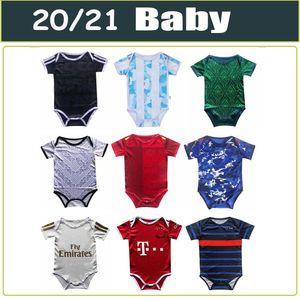2020 2021 새로운 아기 저지 멕시코 스페인 아르헨티나 일본 축구 유니폼 1-24개월 축구 유니폼 1 년 2 세아 축구 셔츠