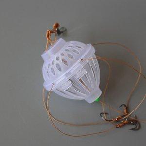 10pcs Pecsa 6 Hooks Sea Monsters Spherical Explosion Fish Hooks Tackle Winter Carp Fly Fishing Lure Jig Feeder JIG Spoon Hook