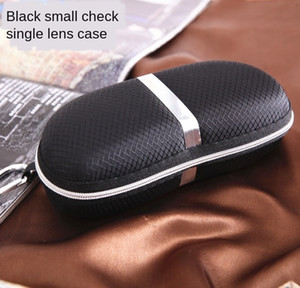 New EVA zipper Ben silver case case white strip adhesive hook sun glasses box anti-pressure Korean portable glasses box
