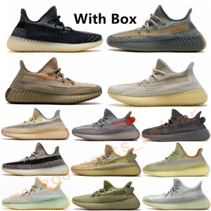 New Desert Sage Asriel Eliada Tail Light Cinder Reflective Mens Women Running Shoes Marsh Yecheil Earth Zyon Flax Kanye West Sports Shoe