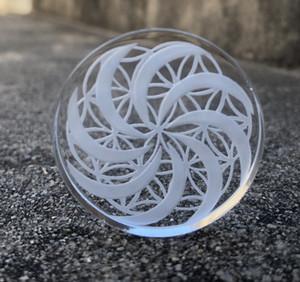 평면 상단은 폭행 외경 30mm 석영 수화물 석영 50mm 캡 꽃 패턴 디자인을위한의 40mm 채널 손톱 OD Jicta 캡