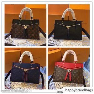 New monogramas Popincourt PM Calf Rouge Bolsa M44195 Tamanho :: 30-21-13.5 cm