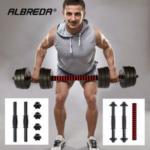 ALBREDA Environmental protection dumbbell rod universal pair of dumbbell grips lengthened 40 50CM nut accessor R7Xr#