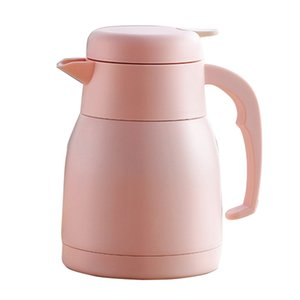 950ML Insulation Flask Thermal Hot Water Jug Pitcher Stainless Steel Double Layer Insulated Vacuum Bottle Coffee Tea Kettle Pot