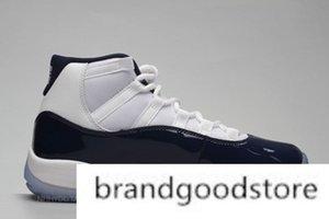 새로운 11 개 낮은 GG 상속녀 프로스트 화이트 블루 뱀 남작 여자 남성 농구 신발 운동화 저렴한 11S 바구니 공 스포츠 신발