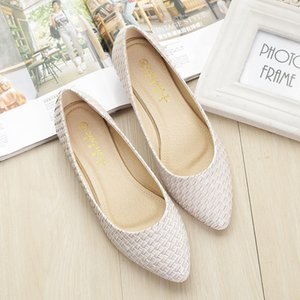 Women's Boat Shoes Ballet Flats Ladies Slip-on Casual Loafers Woman Sexy Elegant Basic Pointed Toe Party Wedding Best Sellers CX200722