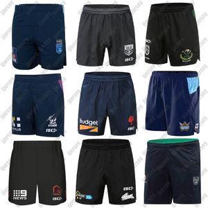 NRL Rugby League jerseys cortos 2020 Melbourne Storm QLD cimarrones Brisbane Broncos Gallos Rabbitohs guerreros maoríes titanes NSW azules Pantalones cortos