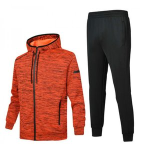 Mens Tracksuits 2019 Windbreaker + Pants Sports Running Set College High Street Style Kits Casual Fashion Suits Coat Pant