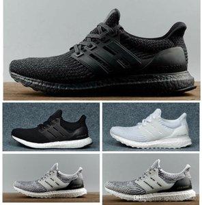 Ultra impulso calçados casuais 3.0 4.0 Homens Mulheres Stripe Balck branco Oreo Sneakers Ultraboost Shoes Formadores Tamanho 36-47