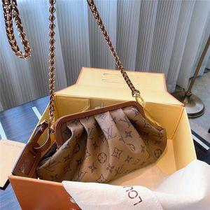 High Quality Designerss Luxury Women Handbags Famous Gold Chain Shoulder Bags Crossbody Soho Bag Disco Shoulder Bag Purse Wallet A54456