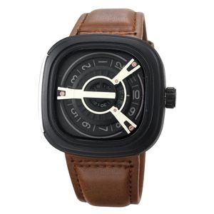 Popular Fashion Men Quartz Leather Watch Brand Designer Watches Simple Business Casual Wholesale Wristwatches Men Watch Free Shipping