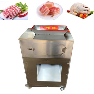 2020 high quality Multifunctional stainless steel frozen fish cube cutting machine chicken dicing machine chicken breast dicer machine