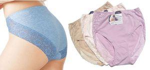 1pcs lot High Quality Womens High Waist Underwear Cotton Panties For Ladies Sexy Women's Briefs Wholesale
