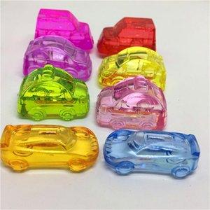 Gift toy Crystal perforated reward video game City sugar digger bread van consumables sports car van police car