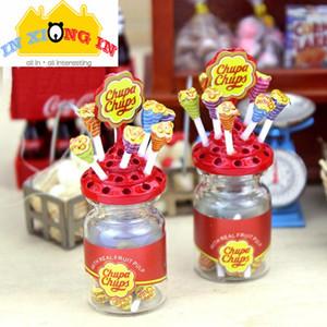 1set Doll House Decor Accessories Kawaii Mini Lollipop Simulation Sugar Miniature Decor Dessert Sugar Grocery Store 112