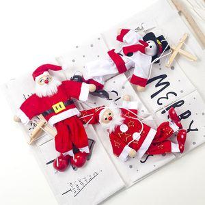 Christmas Decorations New Fabric Christmas Line Puppet Creative Money Dolls Children's Toys