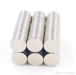 magnétisme côté double N35 12mm X1.5mm disque fort Magnets ronds rares de la Terre Aimants permanents aimants Néodyme 100pcs / lot