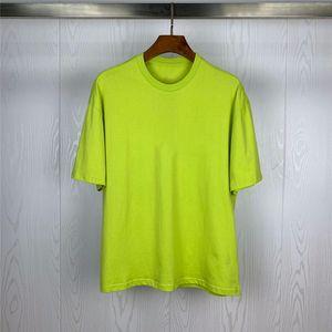 Mens Fashion T Shirt Verão Camisetas alta qualidade luminosa emblemas ténis shirt Hip Hop Homens Mulheres Stylist Polos de manga curta Tee