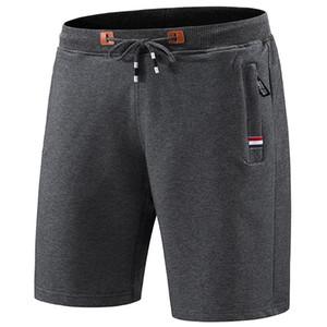 2020 Homens Summer Beach Shorts Algodão Casual Calças curtas Masculino cintura elástica Jogger Curto Sweatpants 5XL Preços por Atacado