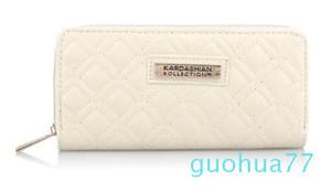 Designer-Hot Selling Kk Wallet langer Entwurfs-Frauen-Mappen PU-Leder Kardashian Kollection High Grade-Handtasche Zipper Geldbeutel-Hand