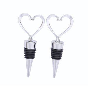 Элегантный Heart Shaped пластиковые бутылки вина пробкой бутылки пробкой партия свадебной для подарка кухни BARWARE высокой qualityA03