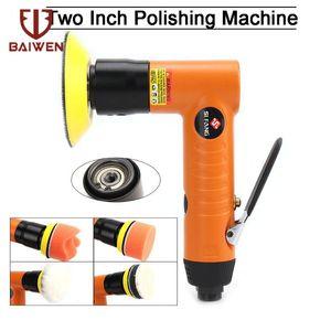 """2 """"/ 3"""" Mini Air Sander pneumatique orbitale Polisseuse pour le polissage Sanding Pad Air Angle Polisseuse Power Tools"""