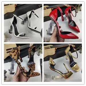 YLS Designer Frauen Bunte Heels VV Sandalen Top-Qualität Tbügel Pumps 6 Farben Damen Lackleder-Kleid Einzel Schuhe gg