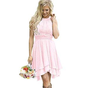 Retro dress A-line dress sexy backless dress summer homecoming