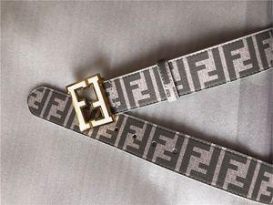 Venda quente Fashion Business CEINTURE mens 20 estilo F cintos de design mulheres Riem com ouro F fivela de cinto negro não com a caixa como 28FWF presente