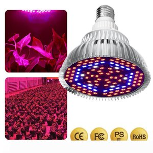 LED Grow Light Full Spectrum 30W 50W 80W E27 UV IR LED Growing Bulb for Indoor Hydroponics Flowers Plants LED Growth Lamp.