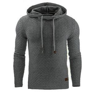 Hoodies Männer AIRGRACIAS Marke Männer Langarm Solid Color T-Shirt Herren Hoodie Sweat Mantel-beiläufige Sport S-5XL CX200805