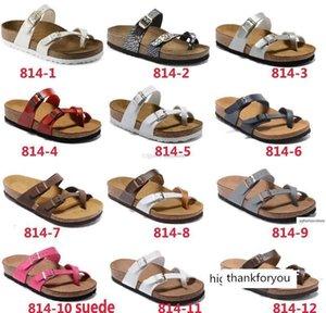 Mayari New Style Summer Beach Cork Slipper Flip Flops Sandals Women Men Color Casual Slides Shoes Flat 35-46