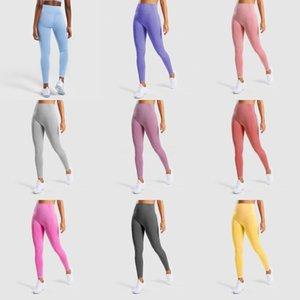 Fitness High Waist Legging Tummy Control Seamless Energy Gymwear Workout Running Activewear Yoga Pant Hip Lifting Wear #T1G#523