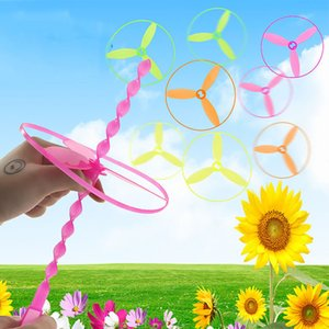 8PCS Outdoor Bamboo Baby Flying Dragonfly Toys Plastic Safe Funny Sports Gadgets Outdoor Windmill Toys Girls Boys Children Gifts