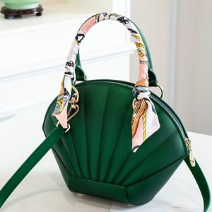 purse hook 2020 new ladies handbag fashion one-shoulder frosted jelly bag high quality all-match messenger bag shell bag Leather luggage ta