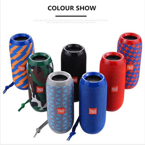TG113 TG116 Upgrade Version TG117 Bluetooth Portable Speaker Double Horn Mini Outdoor Portable Waterproof Subwoofers Wireless Speakers