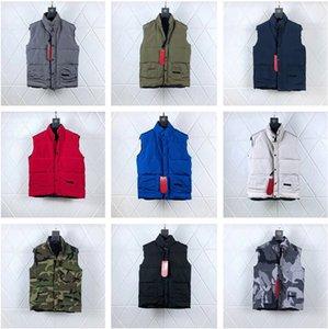 Üst Kalite Yeni Geliş Kış Dış Giyim Tasarımcı Palto Freestyle Mürettebat Yelek Kanada Erkekler Giyim S-XXL V001
