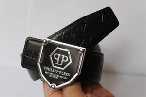 Hot vente de nouveaux Fashion Business ceintures de style Ceinture P conception des femmes des hommes boucle Riem Q avec ceinture noire pas avec la boîte comme cadeau 5C87F
