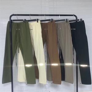 20SS Últimas TOP 3M High Street estilo Hip-hop calças Homens Mulheres Calças Streetwear Cintura Nylon