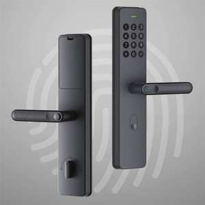مقبض الأصلية Xiaoda الإلكترونية الذكية قفل بصمة Intellgent الباب مع قفل بدون مفتاح الذكية الرقمية أقفال الأبواب المتاحة للMijia APP