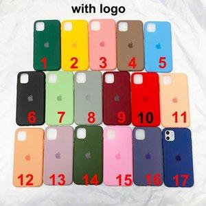 Tienen el logotipo original Líquido casos de silicona para el iPhone 11 MAX PRO XS MAX XR 8 7 6 6S Plus con envío libre de DHL