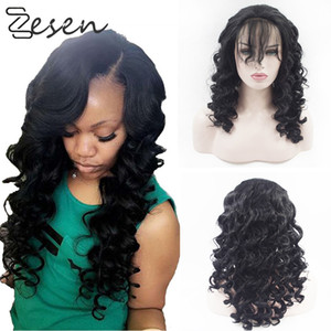 Synthetic lace front wig hd lace wigs glueless lace front wigs for women Loose wave