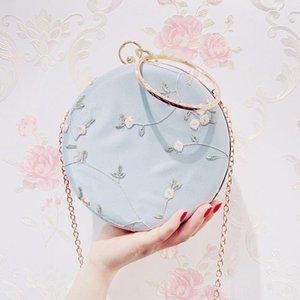 Han Hand Formal dress clothing bag antique slant 2019 new handbag fashion all-match dinner dress cheongsam Chinese style all-match