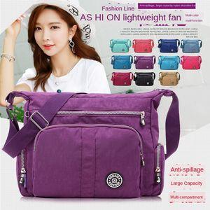 Jin Qiao nuovo nylon dovrebbe singolo shoulde nuovo nylon panno croce grande borsa sacchetto Qiao er Lun femminile panno di spalla delle donne