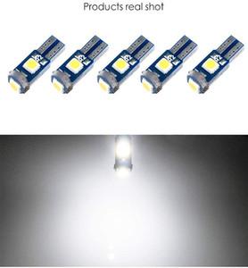 1000шт / Lot White T5 W3W W1.2W 18 37 70 73 74 Auto Lamp 3SMD 3030 LED индикатор приборной панели автомобиля AC Панель Кластер Клин свет лампы Instrument