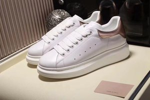 Schöne Schwarz-beiläufige Schuh-Lace Up Designer Comfort Pretty Girl Frauen Turnschuhe beiläufige lederne Schuhe MenSneakers Extrem dauerhafte Stabilität