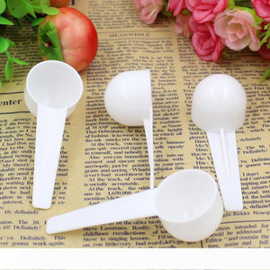 10ml 5g Measuring Plastic Scoop PP Measure Spoon Plastic Measuring Scoop 5g Measure Spoons Kitchen Tool LX7057