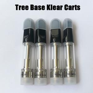 Ağaç Baz Kellear Vape Kartuş .8ml 510 Konu Seramik Bobin Boş Vape Kalem Kartuşları Ambalaj Kutusu Olmadan Buharlaştırıcı E Sigara Arabası